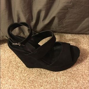 Wedge high heels size 8.5