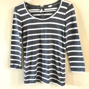 J. Crew Striped Top | S | EUC