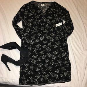 NWT Black & White Detailed Dress