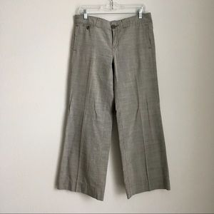 Anthro Pilcro // Relaxed Fit Cotton Trousers