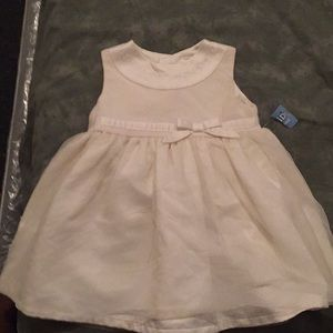Cream Formal Baby Dress.