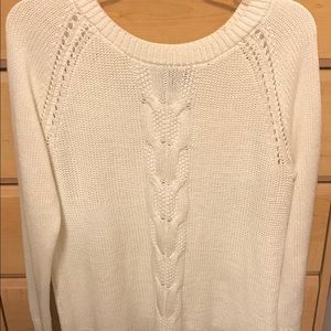 Excellent condition XL cable knit sweater