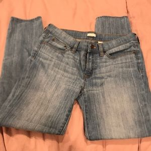 J Crew light wash jeans