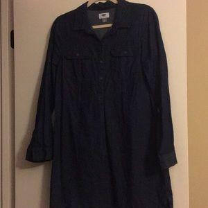 Trendy old navy jean dress