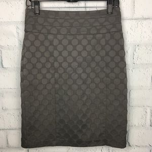H&M High Waist Polka Dot Skirt Size S