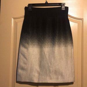 Antonio Melani Ombré Career Skirt