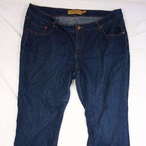 Seven 7 Jeans Boot Cut Sz 22 Short Length