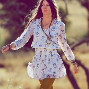 Free People Wild Flowers Dress size S
