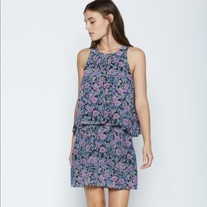 Joie Everla Floral Silk Dress NWT