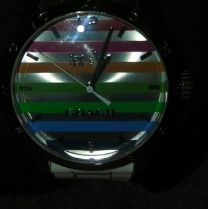 Coach Maddy Stainless steel rubber watch