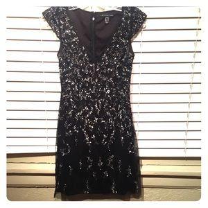 Black Sequin Stunning cocktail dress