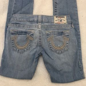 True religion low rose jeans