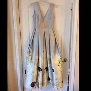 Ted Baker London Floral Maxi Gown