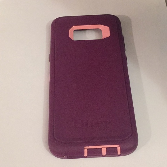 reputable site a5a1c 61c17 Purple OtterBox Defender Case for Galaxy S8 Plus