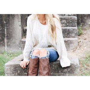 Knox• vintage textured jumper