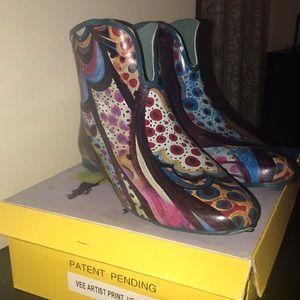 Jeffrey Cambell Artist Print Rain boots