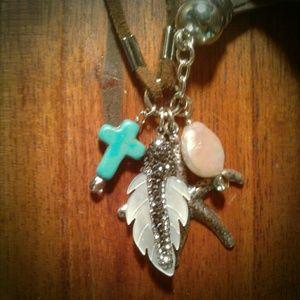 Jewelry - Cute BOHO HIPPY Funky Tassel Leather NECKLACE