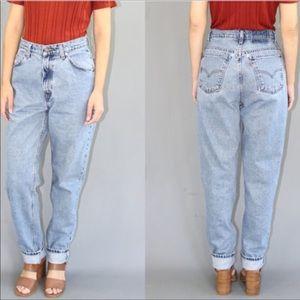 Levi vintage high waist mom jeans 921