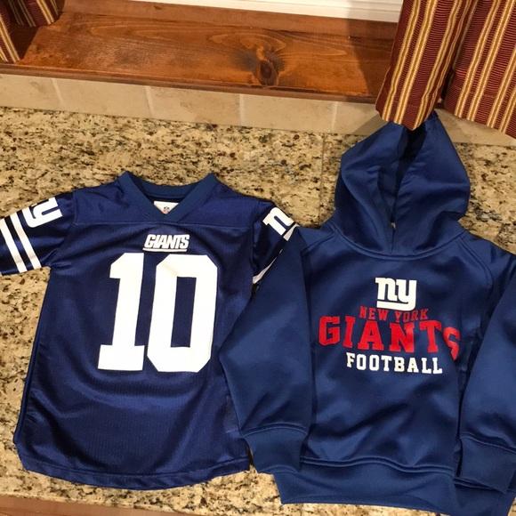 huge discount c8f49 5ee7d Kids NY Giants Apparel!