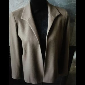 Buttonless fine wool jacket Bleyle brand.
