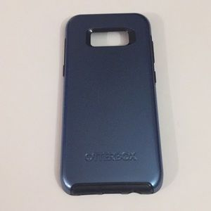 Blue Coral OtterBox Symmetry Case for Galaxy S8