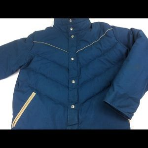 Vintage Woolrich 70/80s Style Puffer Coat Large