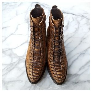 Free People Verrico Lace Up Boot