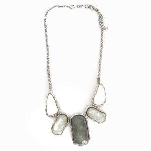 Winter Storm Rock Necklace Set