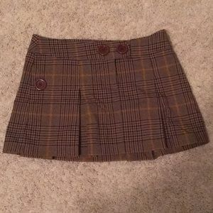 Xhilaration Plaid Mini Skirt
