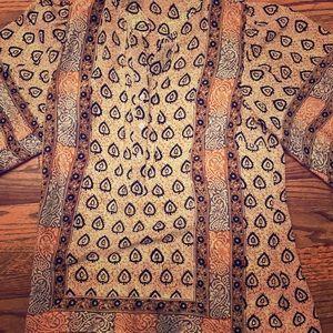 Tolani 100% silk blouse