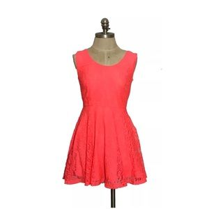 Robin-K Salmon Lace Dress Size XS