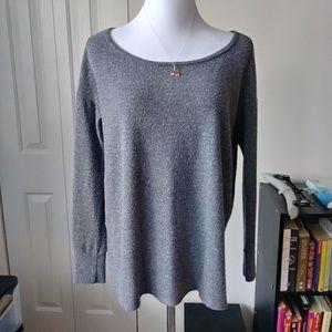 Comfy grey urban outfitters hi low sweatshirt