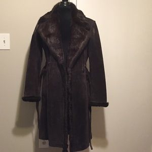 Alder Collection size S leather Coat