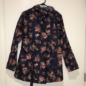 Mossimo floral rain jacket ☔️
