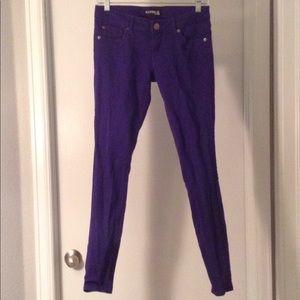 Express Pants in Royal Purple Size 2