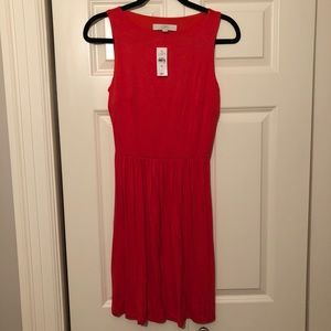 LOFT Key Hole Back Dress