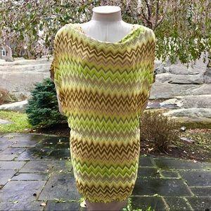 NWT Michael Kors Chevron Dress