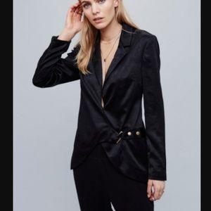 47b619da15 Free People Jackets   Coats - NWOT Free People Dorothea Blazer black