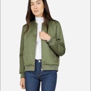 Everlane E2 Green Bomber Jacket Coat XS S Small