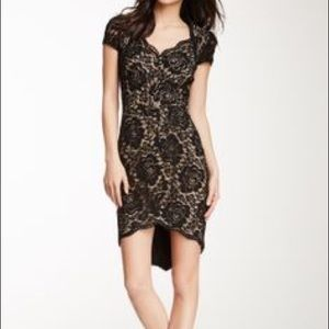 💎NWT Exquisite Cynthia Steffe Black Lace Dress 🔥