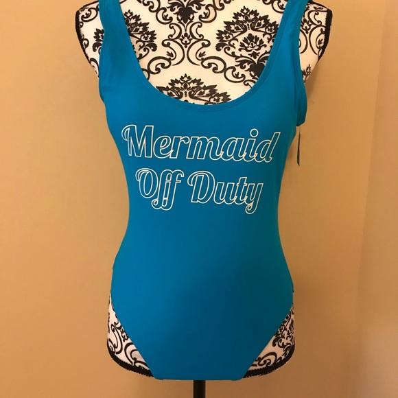 437c5c4f02e Mermaid Off Duty Bathing Suit. NWT. No Boundaries. $15 $0. Size. M. L