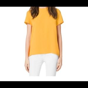 Michael Michael Kors Yellow Top