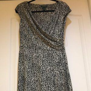 Ralph Lauren Patterned Wrap Dress