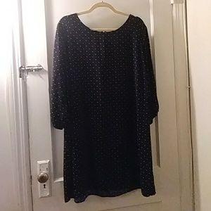 Old Navy Black & White Polka Dot Dress