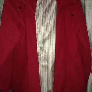 Red All Weather Jacket
