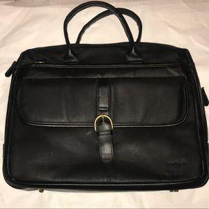 Leather Luca Bocelli Laptop Bag
