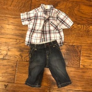 Pants and shirt 3-6 Months