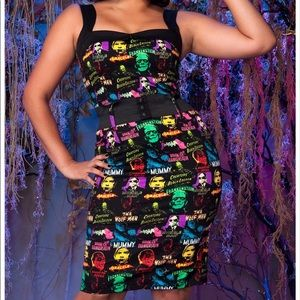 Universal Monsters Wiggle Dress