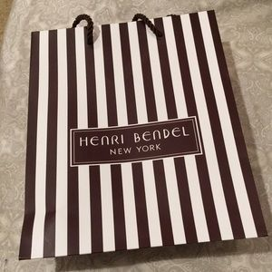 Small Henri Bendel shopping bag