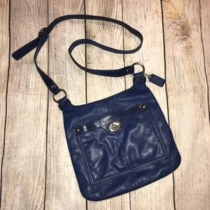 COACH crossbody purse in blue